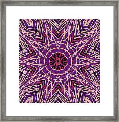 Kaleidoscope 147 Framed Print