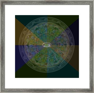 Kaleidoscope Eye Framed Print