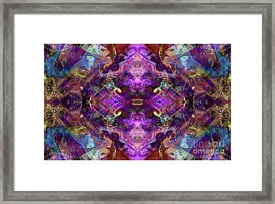 Kaleidoscope Framed Print by Tlynn Brentnall