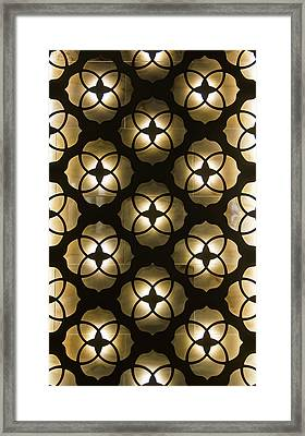 Framed Print featuring the photograph Kaleidoscope Wall by April Reppucci
