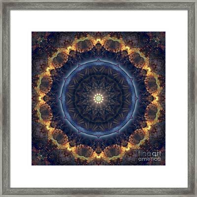 Kaleidoscope Zero Fifty Nine Framed Print