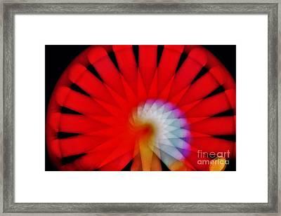 Kaleidoscope6 Framed Print