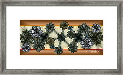 Kaleidoscopeflowers Framed Print