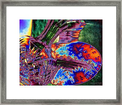 Kaleidoscopic Canteen Framed Print