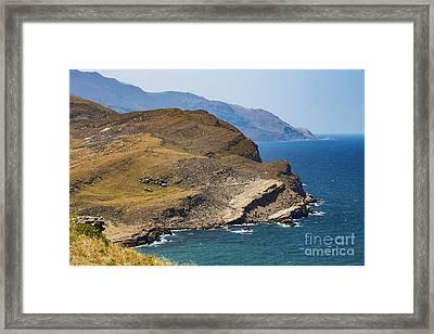 Kalekoy Bay Framed Print