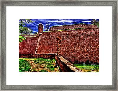 Kalemegdan Fortress Belgrade Framed Print by Milan Karadzic