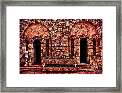 Kalemegdan Fortress Church Saint Petka Framed Print by Milan Karadzic