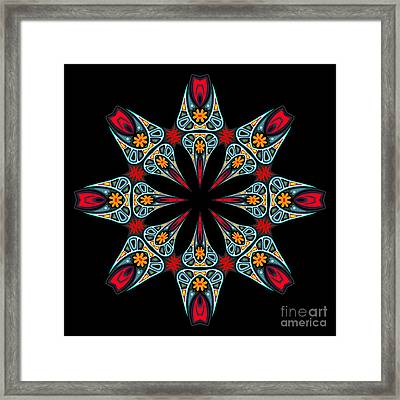 Framed Print featuring the digital art Kali Kato - 06a by Aimelle