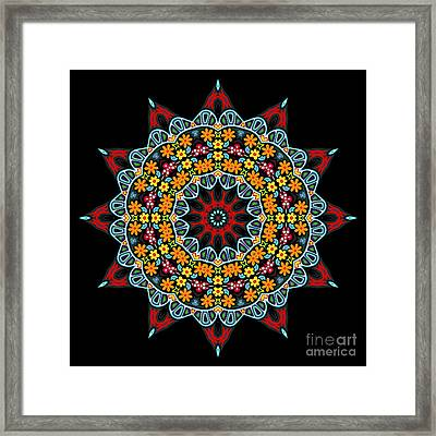 Framed Print featuring the digital art Kali Kato - 12 by Aimelle