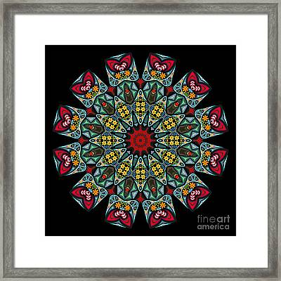 Framed Print featuring the digital art Kali Katp - 10 by Aimelle
