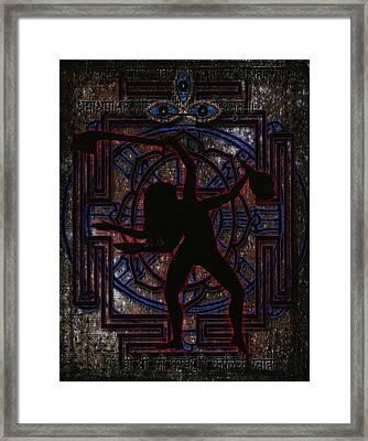 Kali Ma Framed Print by Kara Pfaender