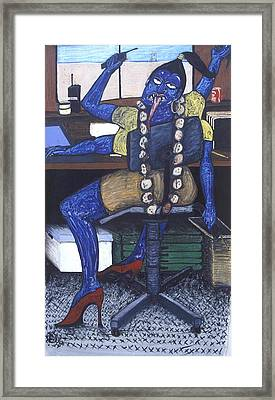 Kali Production Manager Framed Print by Billy Knows