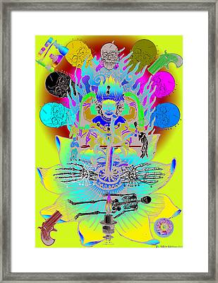 Kali Yuga Framed Print by Eric Edelman