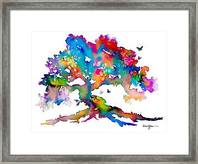 Da186 Kelly's Tree    Daniel Adams Framed Print