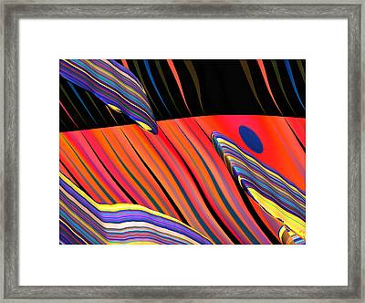 kali.fa-Papillon - Callg. 10z11m9 Framed Print by Terry Anderson