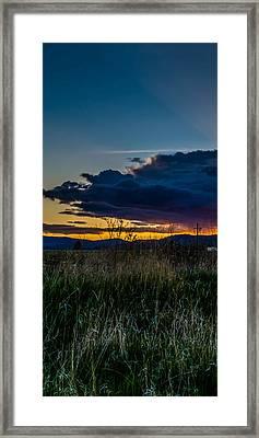 Kalispell Mill Triptych 2 Framed Print