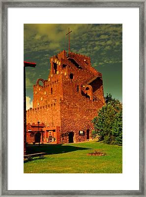 Kalkow-golgotha Of East Framed Print