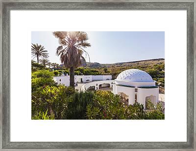 Kallithea Springs Framed Print by Werner Dieterich