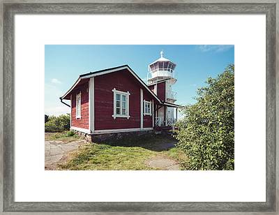 Framed Print featuring the photograph Kallo Lighthouse by Ari Salmela