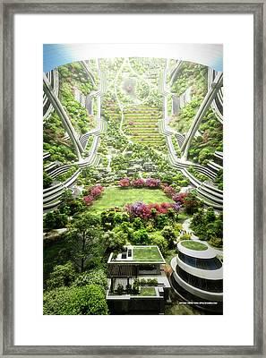 Kalpana One Neighborhood Vertical Framed Print by Bryan Versteeg