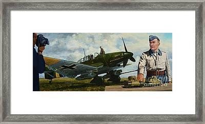 Kamerad Hans - Ulrich Framed Print