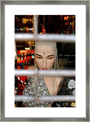 Kamlesh Trapped Framed Print by Jez C Self