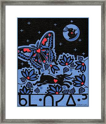 Framed Print featuring the painting Kamwatisiwin - Gentleness In A Persons Spirit by Chholing Taha
