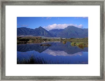 Kanaha Pond Maui Framed Print