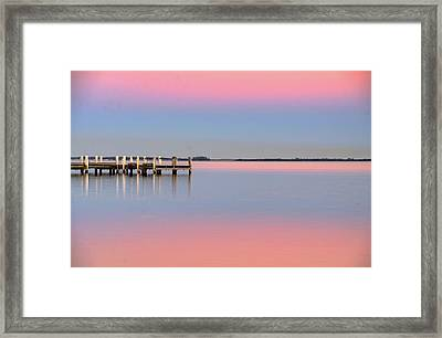 Kanahooka Pier Framed Print by RDN Photography