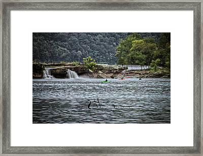 Kanahwa Falls Festival Framed Print