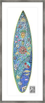 Kanaloa Hawaiian Sea God Framed Print