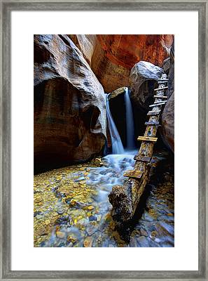Kanarra Framed Print by Chad Dutson