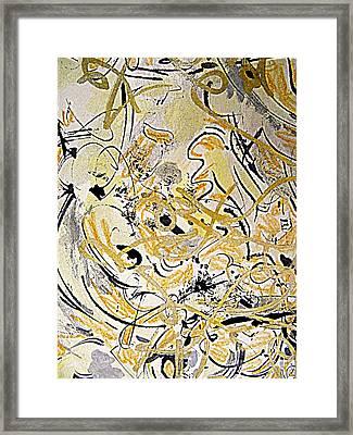 Kandinsky Echo Framed Print