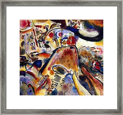Kandinsky Small Pleasures Framed Print by Granger