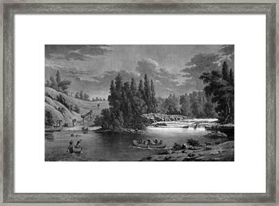 Kane: White Mud Portage Framed Print