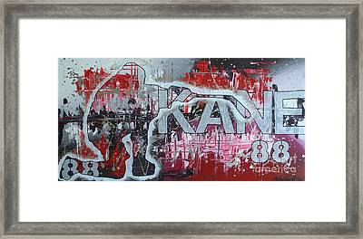 Kaner 88 Framed Print by Melissa Goodrich