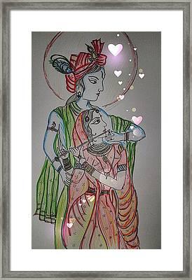 Kannan Radha Framed Print