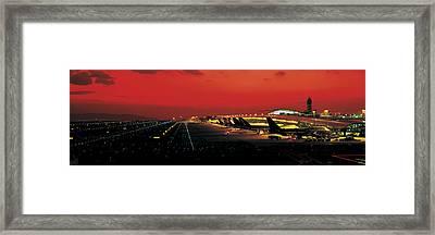 Kansai International Airport Osaka Japan Framed Print by Panoramic Images