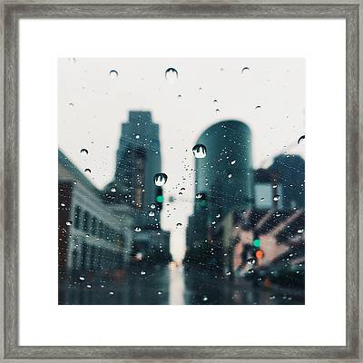 Kansas City #7 Framed Print by Stacia Blase
