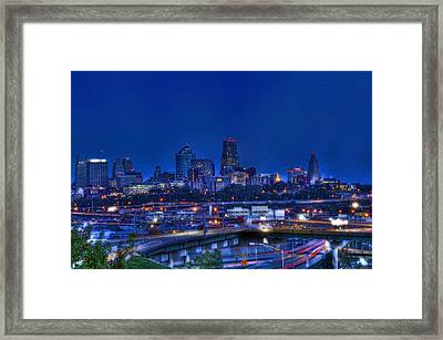 Kansas City Fantasy Framed Print
