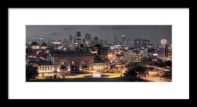 Kansas City Framed Prints