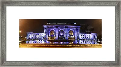 Kansas City Union Station Framed Print by Tim Mulina