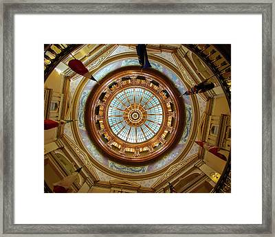 Kansas Dome Framed Print