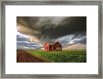 Kansas Fury Framed Print