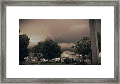 Kansas Framed Print by Julie Smith