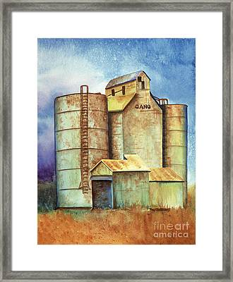 Kansas Past Framed Print by Tracy L Teeter
