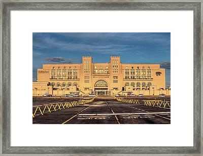Kansas State Stadium Framed Print by JC Findley