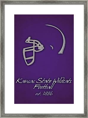 Kansas State Wildcats Framed Print