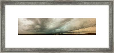 Kansas Storm Chase Bust Day 001 Framed Print