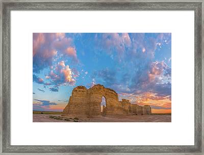 Kansas Sunset Framed Print by Darren White